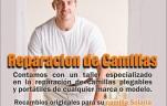 reparacion de camillas Madrid   Solaria la camilla