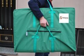 Bolsa de transporte Especial para camilla de masaje 4 asas y bolsillo exterior Solaria www.solaria.es