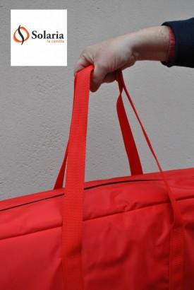 bolsa de transporte para camilla de masaje plegable y portátil con asas Solaria www.soalria.es