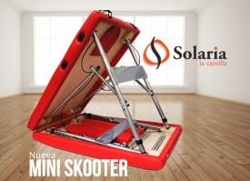 camilla de masaje mini skooter