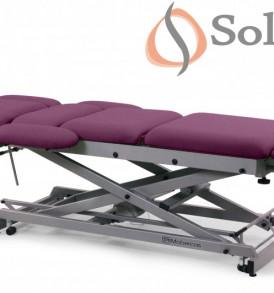 Camilla eléctrica multifuncional para osteopatía de 9 secciones CE-0197-R